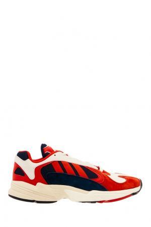 Разноцветные кроссовки YUNG-1 Adidas. Цвет: multicolor