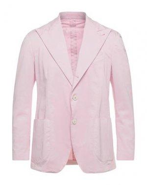 Пиджак GABRIELE PASINI. Цвет: светло-розовый