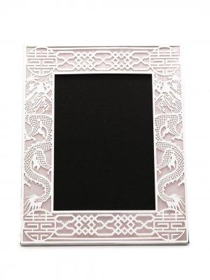 Рамка для фото 5R с узором Shanghai Tang. Цвет: розовый