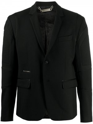 Пиджак Iconic строгого кроя Philipp Plein. Цвет: черный