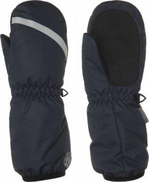Варежки для мальчиков , размер 6 Outventure. Цвет: синий