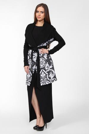 Пальто IQ dress. Цвет: черный