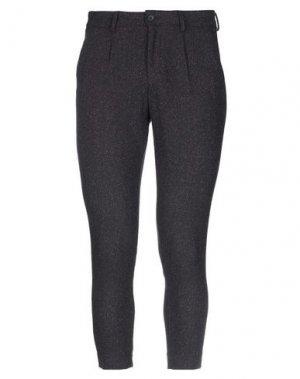Повседневные брюки ELVINE. Цвет: баклажанный