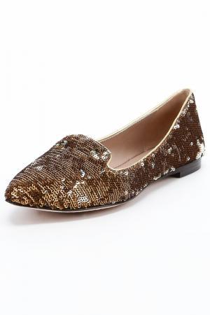 Туфли закрытые Jean-Michel Cazabat. Цвет: коричневый