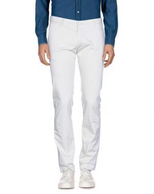 Повседневные брюки BOSS HUGO. Цвет: слоновая кость