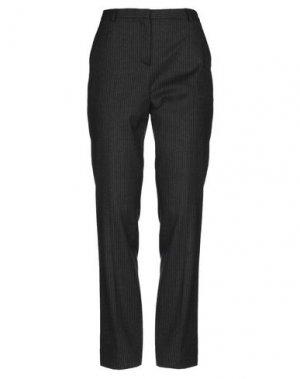 Повседневные брюки PHILOSOPHY di ALBERTA FERRETTI. Цвет: стальной серый