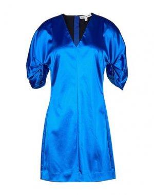 Короткое платье ELIZABETH AND JAMES. Цвет: синий