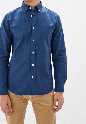 Рубашка Banana Republic OXFORD. Цвет: синий
