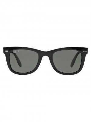 Солнцезащитные очки RB4105 Ray-Ban. Цвет: черный