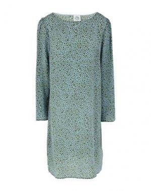 Короткое платье ATTIC AND BARN. Цвет: зеленый-милитари