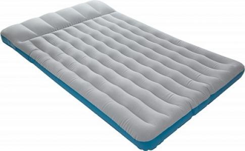 Матрас надувной Intex. Цвет: серый