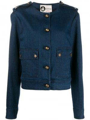 Джинсовая куртка 2000-х годов LANVIN Pre-Owned. Цвет: синий