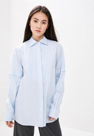 Рубашка Helmut Lang. Цвет: голубой