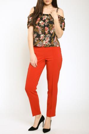 Блуза Collezione di Ines. Цвет: мультицвет