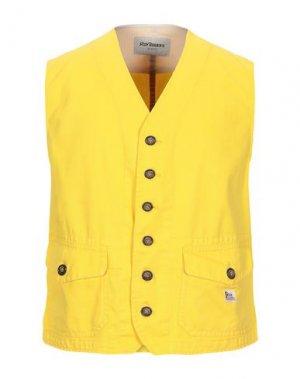 Жилет ROŸ ROGER'S. Цвет: желтый