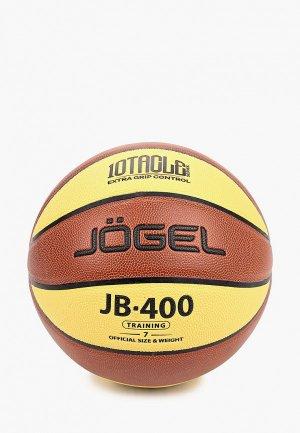 Мяч баскетбольный Jogel JB-400 №7. Цвет: разноцветный