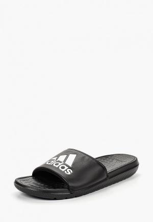 Сланцы adidas VOLOOMIX. Цвет: черный