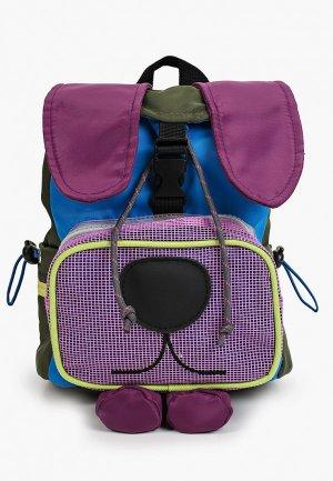 Рюкзак Sela. Цвет: разноцветный