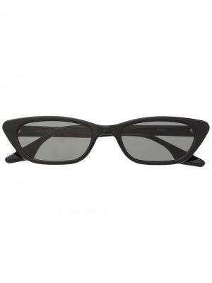 Солнцезащитные очки в прямоугольной оправе Gentle Monster. Цвет: черный