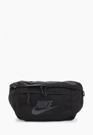 Сумка поясная Nike HIP PACK. Цвет: черный