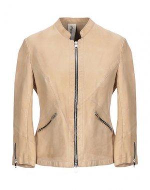 Куртка DELAN. Цвет: песочный