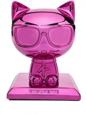 Статуэтка K/Ikonic 3D Choupette (18 см) Karl Lagerfeld. Цвет: розовый