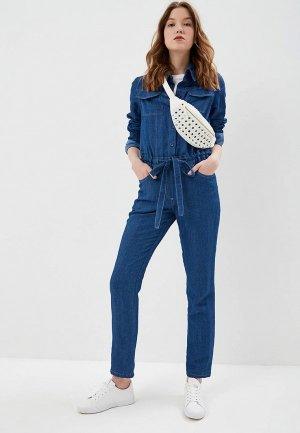 Комбинезон джинсовый Lolita Shonidi. Цвет: синий