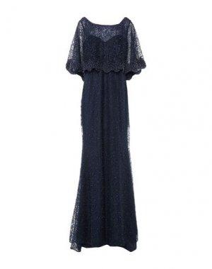 Длинное платье MUSANI. Цвет: темно-синий