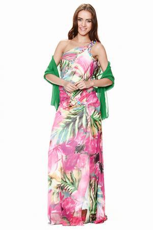 Платье Corleone Exclusive. Цвет: мультицвет