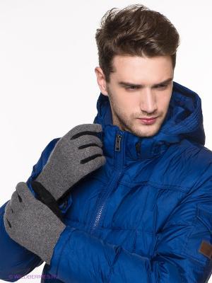 Перчатки Modo. Цвет: серый, черный