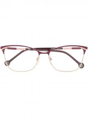 Cat-eye frame glasses Carolina Herrera. Цвет: фиолетовый