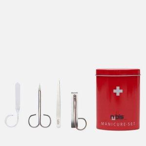 Маникюрный набор Swiss Box Victorinox. Цвет: красный