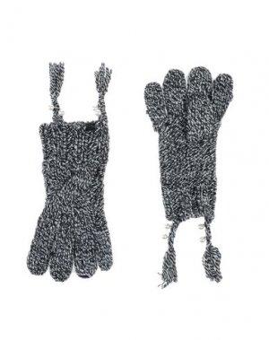 Перчатки RELISH. Цвет: черный