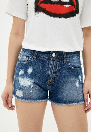 Шорты джинсовые Ice Play. Цвет: синий
