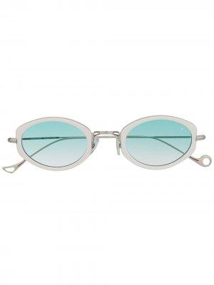 Солнцезащитные очки Grace Eyepetizer. Цвет: серебристый