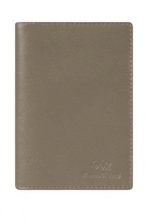 Обложка для паспорта Franchesco Mariscotti. Цвет: капучино