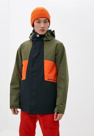 Куртка сноубордическая DC Shoes DEFY M SNJT CRH0. Цвет: хаки