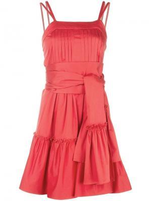 Короткое расклешенное платье Alexis
