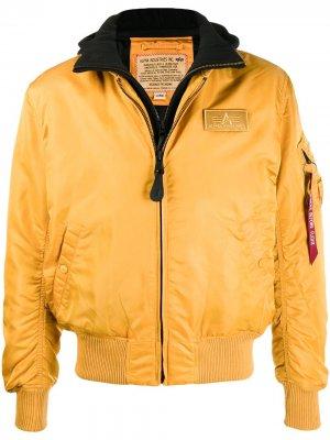 Куртка MA1 D-Tec Alpha Industries. Цвет: оранжевый