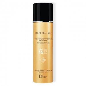 Солнцезащитное масло-спрей Bronze SPF15 Dior. Цвет: бесцветный