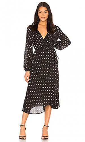 Платье betty Bardot. Цвет: черный
