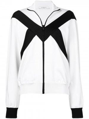 Куртка-бомбер на молнии Givenchy. Цвет: белый
