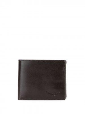 Складной кошелек R.M.Williams. Цвет: коричневый