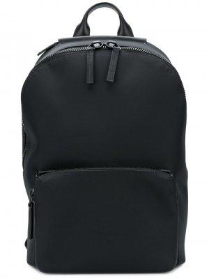 Рюкзак с застежкой на молнию сверху Troubadour. Цвет: черный