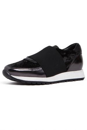 Кроссовки BAGATT. Цвет: черный