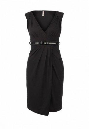 Платье LeMonada LE005EWET129. Цвет: черный