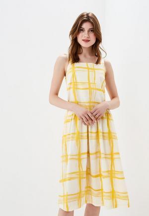 Сарафан Baon. Цвет: желтый