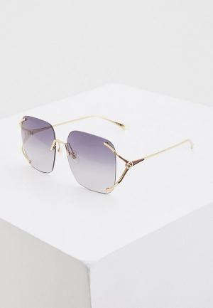 Очки солнцезащитные Gucci GG0646S 001. Цвет: золотой