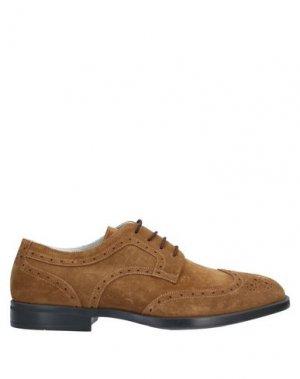 Обувь на шнурках ALDO BRUÉ. Цвет: хаки