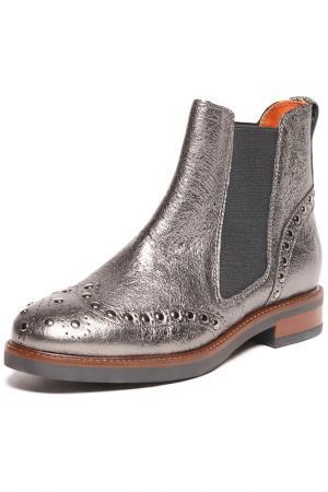 Boots BAGATT. Цвет: silver